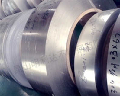 304 stainless steel belt production