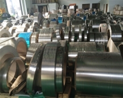 Stainless steel strip material