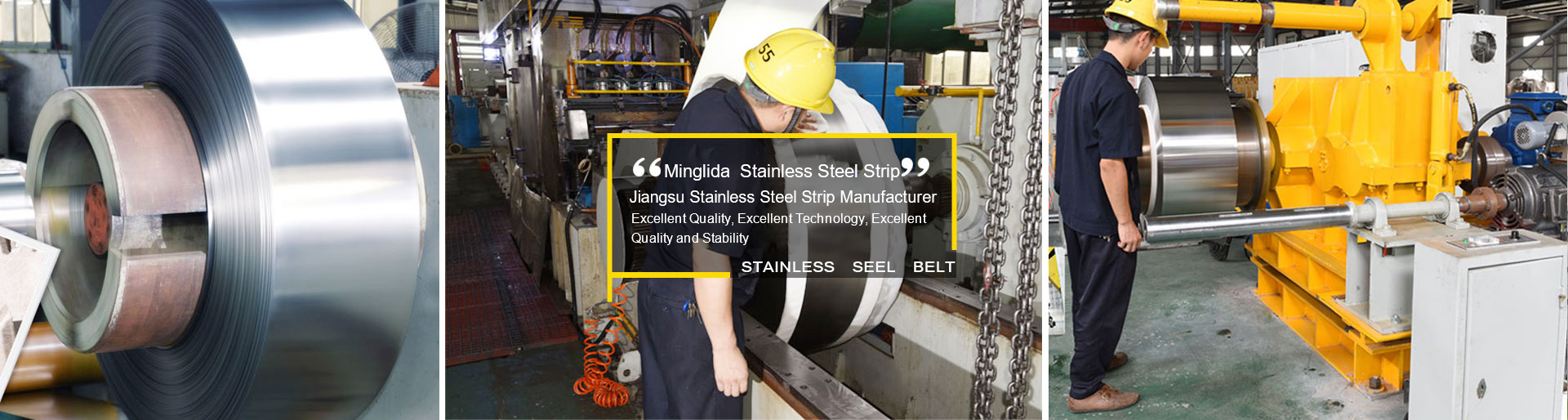 Stainless steel precision steel strip